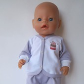Одежда для новорожденного пупса беби борн (baby born)