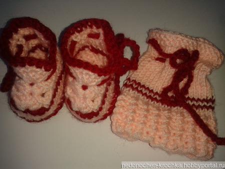 Пинетки для недоношенных малышей ручной работы на заказ