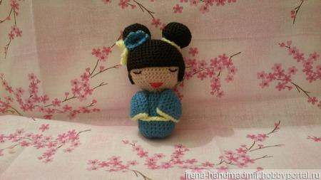 Японская девочка Хонеко ручной работы на заказ