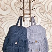 Вязаные рюкзаки на заказ