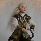 фото: Куклы и игрушки (шелковые ленты)
