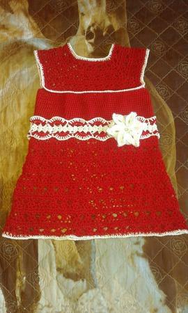 Платье внучке ручной работы на заказ