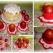 Набор подставок для пасхальных яиц
