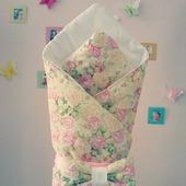 Одеяло на выписку (весна,холодное лето)