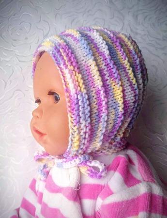 """Комплект вязаный для новорожденного """"Baby"""" ручной работы на заказ"""