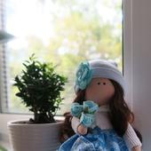 Текстильная куколка-принцесса