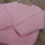 Детский плюшевый свитер