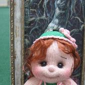 Кукла вязаная малышка