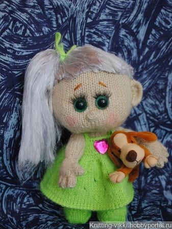 Куколка Ксюня ручной работы на заказ