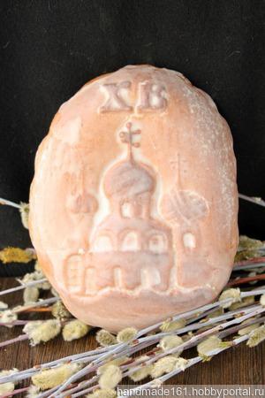 """Пряник """"Яйцо с церквушкой"""" ручной работы на заказ"""