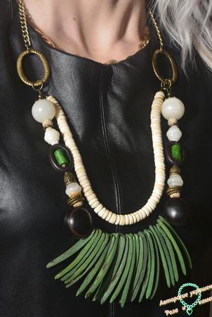 """Ожерелье """"Etnica"""" ручной работы на заказ"""