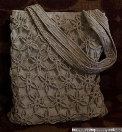Женская летняя сумка ручной работы на заказ
