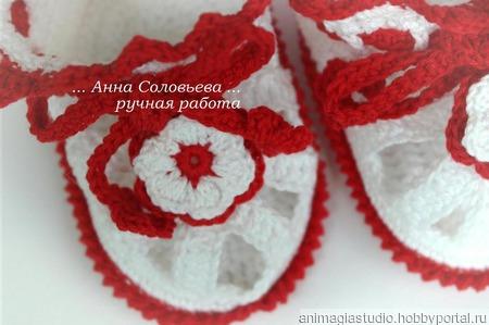 Комплект: платье и пинетки Рафаэлло ручной работы на заказ