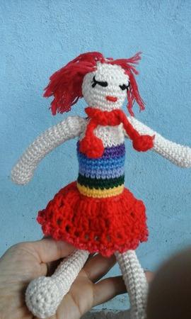 Кукла Радуга ручной работы на заказ