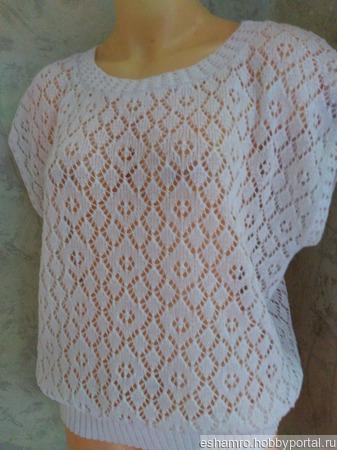 Блуза летняя ручной работы на заказ