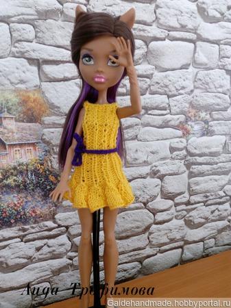 Летнее платье на МХ ручной работы на заказ