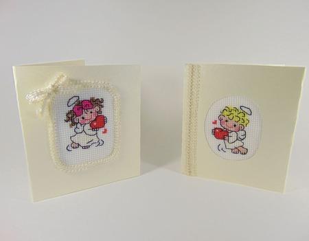 Вышитые открытки ручной работы на заказ