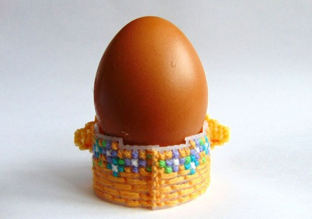 Вышитые подставки под яйца ручной работы на заказ