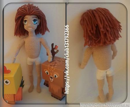 МК по каркасной кукле Антошки ручной работы на заказ