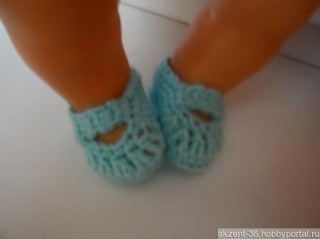 Туфельки для куклы ручной работы на заказ