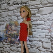 Алое платье на МС2 проект