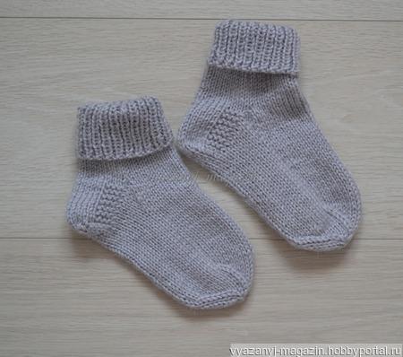 Носки дтские ручной работы на заказ