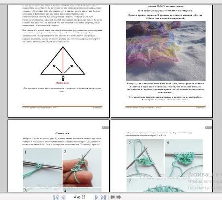 Сборник инструкций шалей ручной работы на заказ