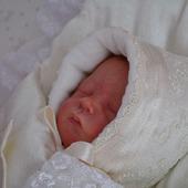 Шапочка для новорожденных,шапочка на выписку для малыша.