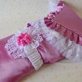 """Одеяло для новорожденного. Одеяло на выписку """"Лепесток орхидеи"""""""