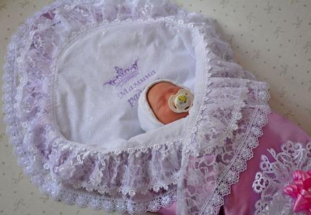 Уголки на выписку для новорожденных фото