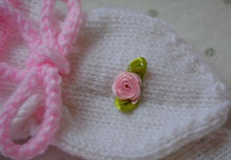 Рукавички вязанные для новорожденных. Для малышей. ручной работы на заказ