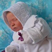 """Комплект для новорожденного """"мотылек"""" штанишки,кофточка,шапочка"""