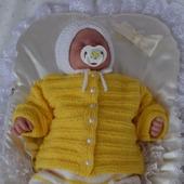 """Комплект для новорожденного """"птенчик"""". На выписку для новорожденных"""