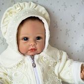Комплект для новорожденного. Конверт и шапочка.