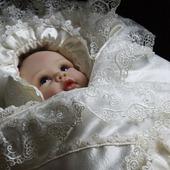 """Одеяло   на выписку  для новорожденного  """"вдохновение"""""""