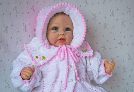 """Комплект для новорожденного """"Маленькое нежное создание"""".на выписку. ручной работы на заказ"""