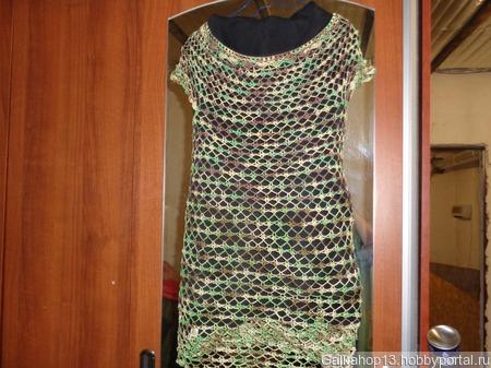 Пляжная туника платье ручной работы на заказ
