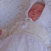 """Комплект на выписку  для новорожденной девочки """"Прелестное создание"""""""