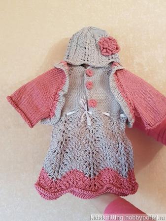 Комплект для маленькой модницы ручной работы на заказ