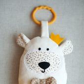 """Сенсорная игрушка """"Белый Мишка"""""""