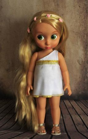 Платья в греческом стиле для кукол Дисней Аниматорс ручной работы на заказ