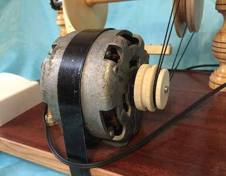 Прялка электрическая бытовая ручной работы на заказ