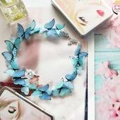"""Колье """"Petits papillons"""""""