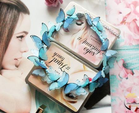 """Колье """"Petits papillons"""" ручной работы на заказ"""