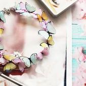 """Колье """"Spring butterfly"""""""