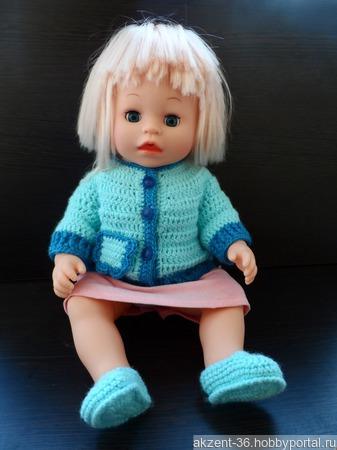 Кофта для куклы ручной работы на заказ