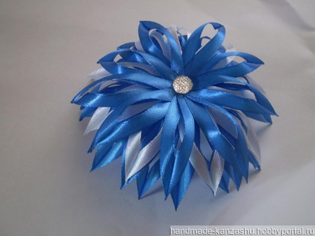 Цветочки для волос ручной работы на заказ