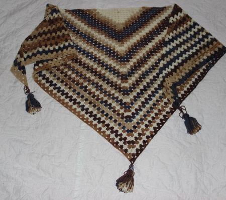 Бактус (шарф-косынка) ручной работы на заказ