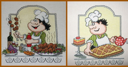 Картина на кухню ручной работы на заказ