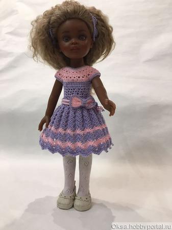 Вязанные платья для кукол Паола Рейн ручной работы на заказ